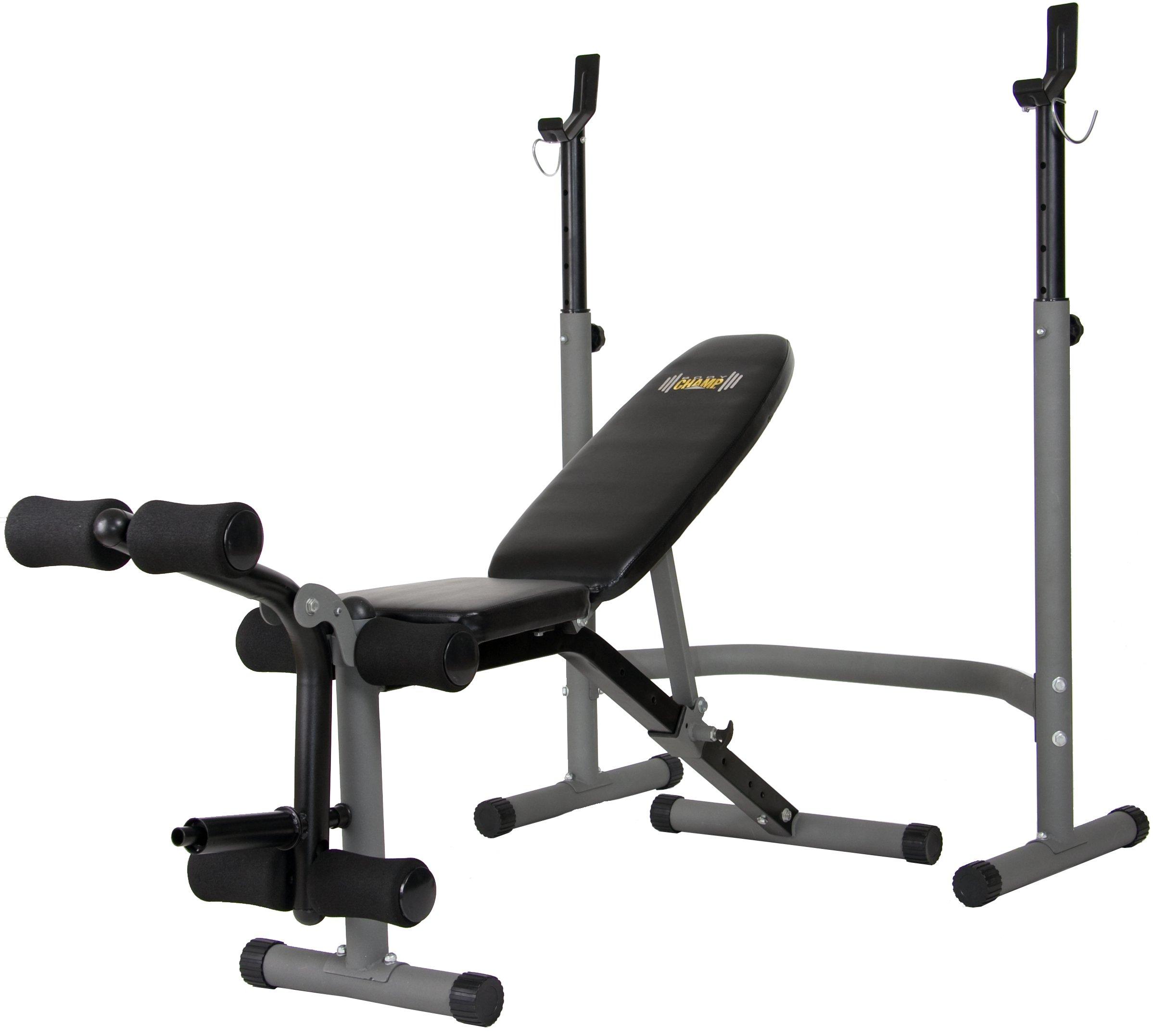Body Power BCB3890 Olympic Width Weight Bench System