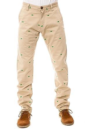RockSmith Men's Money Stacks Chino Pants 38 Khaki: Amazon co