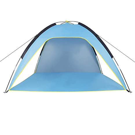 Sumerice Family Beach Tent and Sun Shade UV Cabana Shelter | C&ing Hiking Fishing  sc 1 st  Amazon.com & Amazon.com: Sumerice Family Beach Tent and Sun Shade UV Cabana ...