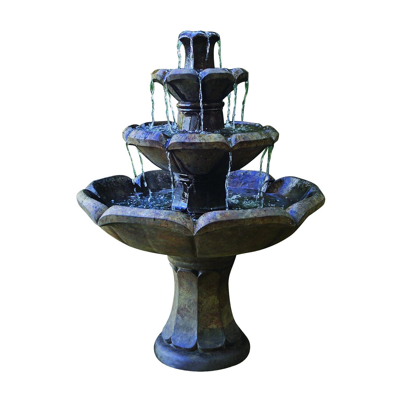 Amazon.com: Henri Studio 5 Piece Montreux 3-Tier Fountain, Relic ...