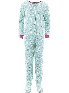 Amazon.com  Komar Kids Girls  Big Plush Velour Fleece Footed Blanket ... d45e6d1c1