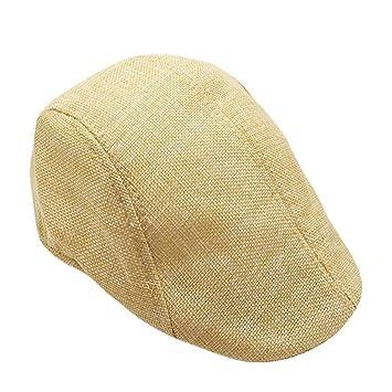 LMMVP Sombrero,Unisex Hombres Mujeres Verano Visera Sombrero Sol ...