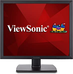 ViewSonic VA951S 19 Inch IPS 1024p LED Monitor with DVI VGA and Enhanced Viewing Comfort