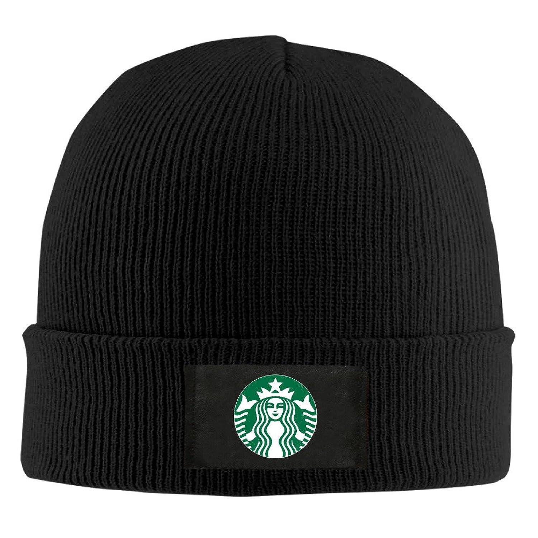 YFLLAY Starbucks Coffee Logo Knit Cap Woolen Hat For Unisex