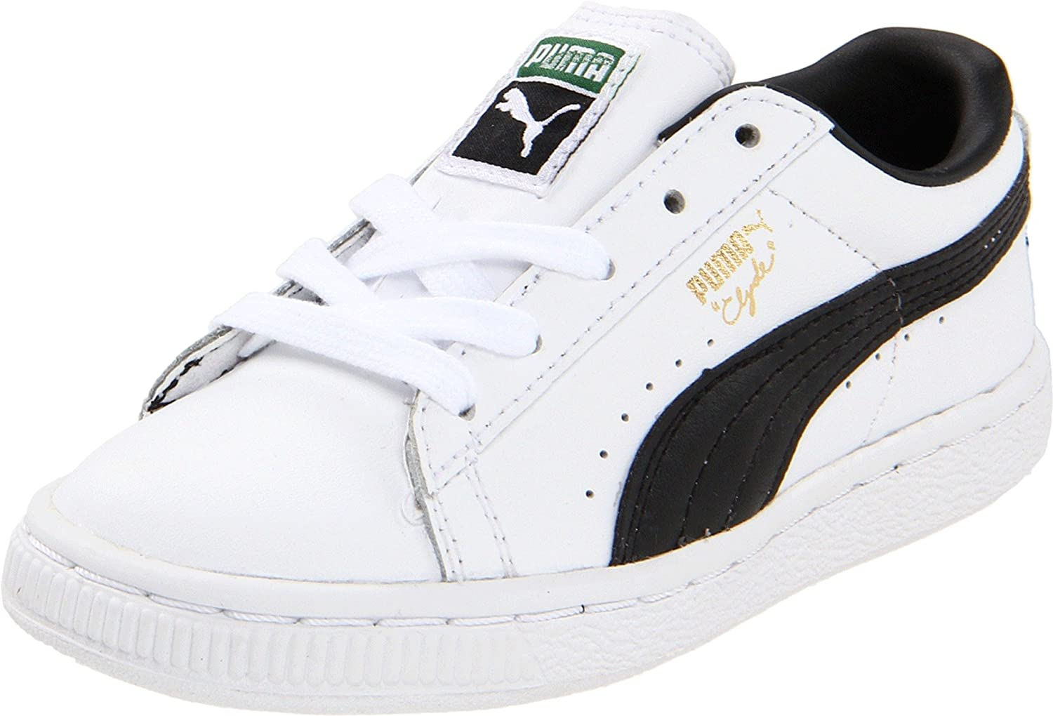 innovative design ec571 92a06 PUMA Clyde Leather Lace-Up Sneaker (Toddler)
