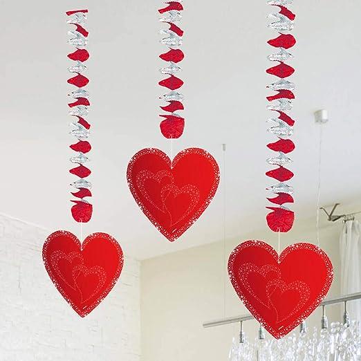 Verlobung Liebe Heiratsantrag Deko-Set Girlanden Konfetti Ballons viel Deko