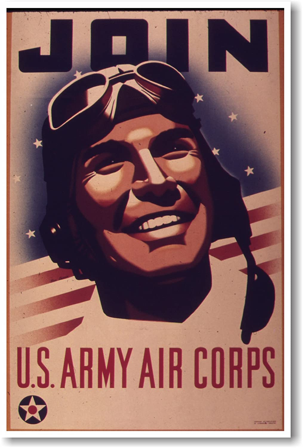 amazoncom join us army air corps new vintage reproduction poster office products