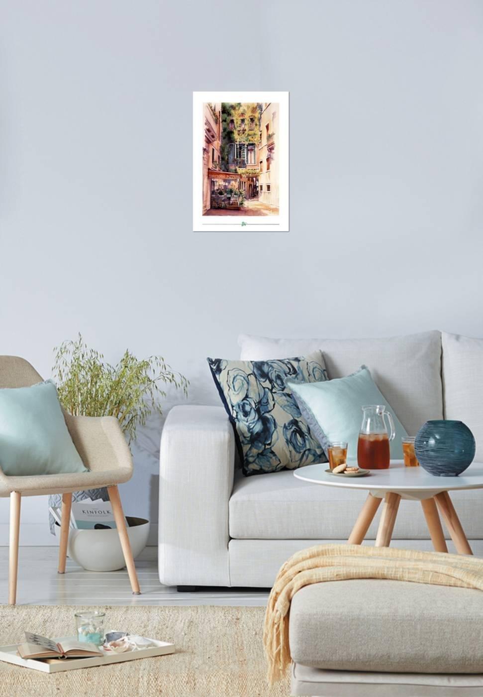 Amazon.com: Poster Revolution Italian Restaurant Art Print Italy ...