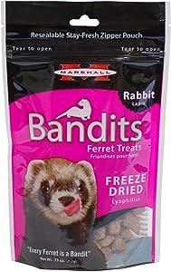 Marshall Bandits Freeze Rabbit Dried Treat For Pets