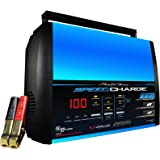 Schumacher SSC-1000A SpeedCharge 2/6/10 Amp Battery Charger and Maintainer with 50-Amp Battery Clips