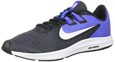 61eb240172bf9 Nike Women's Downshifter 9 Sneaker, Anthracite/White-Sapphire, 5 Regular US