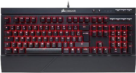 CORSAIR - Clavier K68 LED MX Red - CH-9102020-FR: Amazon.es ...