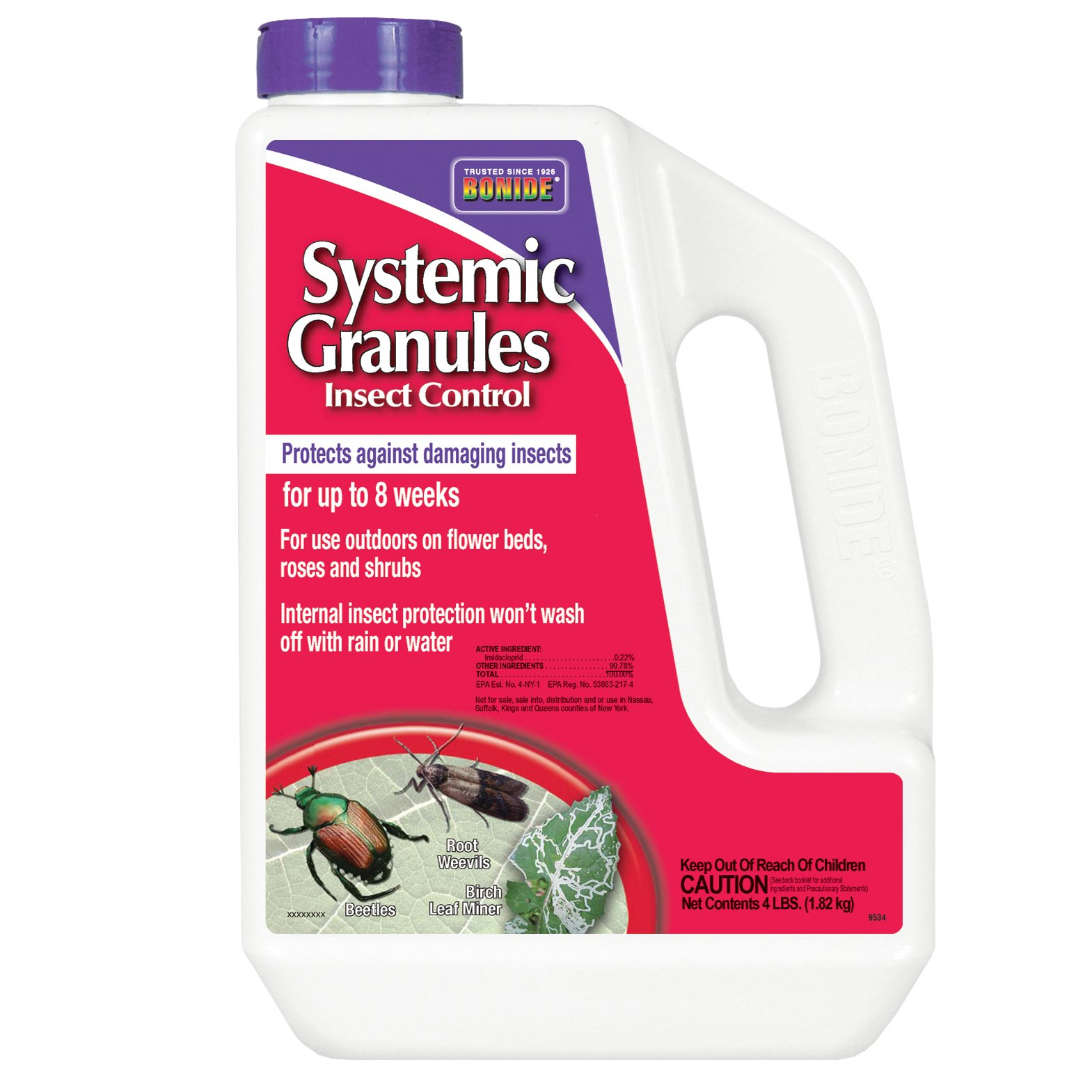 Systemic Granules .22% 4 lb. by Bonide
