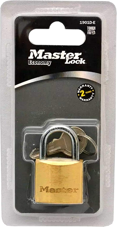 Master Lock 130D 1-3//6 Brass Padlock