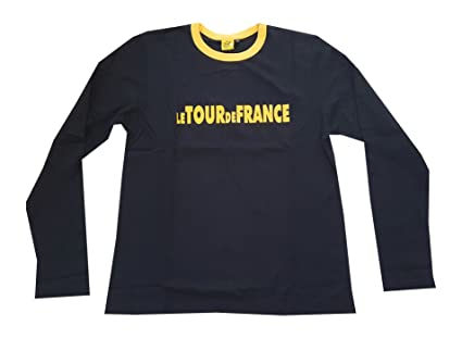 94f1d3612 Amazon.com   Tour De France T shirt black long sleeves   Cycling ...
