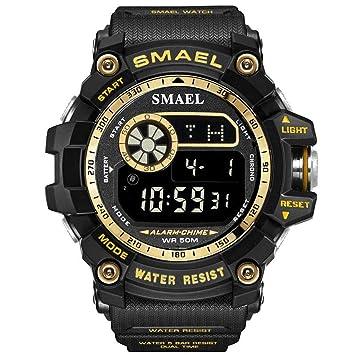 Blisfille Reloj Mujer Reloj de Actividad Hombre Reloj Mujer Deportivo Reloj Digital de Mujer Reloj Deporte