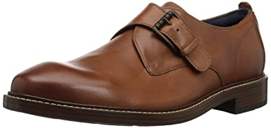 Cole Haan Men's Kennedy Single II Monk-Strap Loafer, Woodbury, 7.5 Medium US