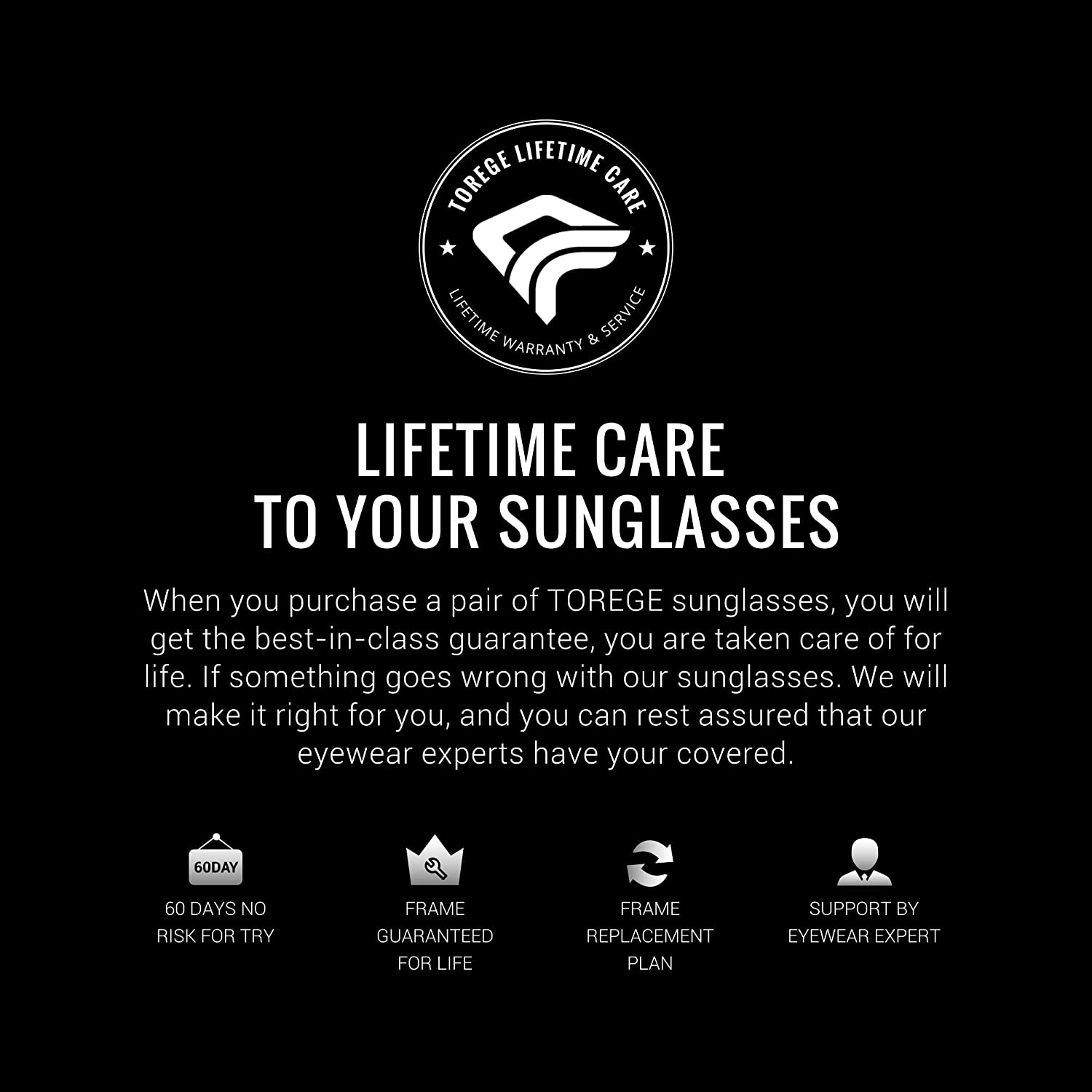 TOREGE Polarized Sports Sunglasses with 3 Interchangeable Lenses for Men Women Cycling Running Driving Fishing Golf Baseball Glasses TR002(Upgrade)