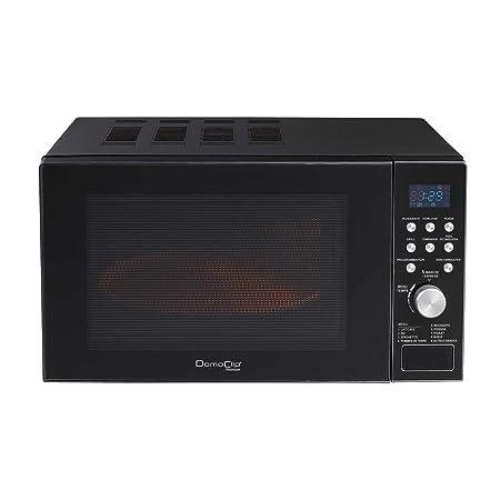 Microondas con función grill 900 W Volumen 20 Litros. Negro ...