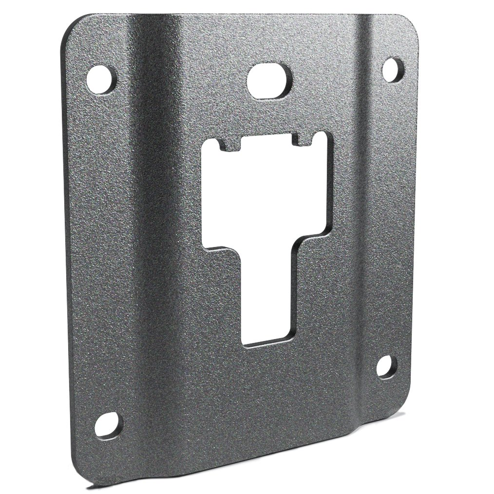Box Link Tie Down Brackets for 2015-2018 Ford F150 F250 F350 Replacement of Ford FL3Z-9928408-AB Bed Load Hook Reinforcement Panel Standard Bed Interface Plate Set 4 with 16 Anti-Theft Screws