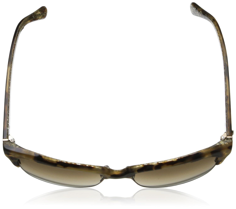 024ec3117e68 Amazon.com: Kate Spade Women's Shira Cateye, Camel Tortoise, 55 mm: Clothing