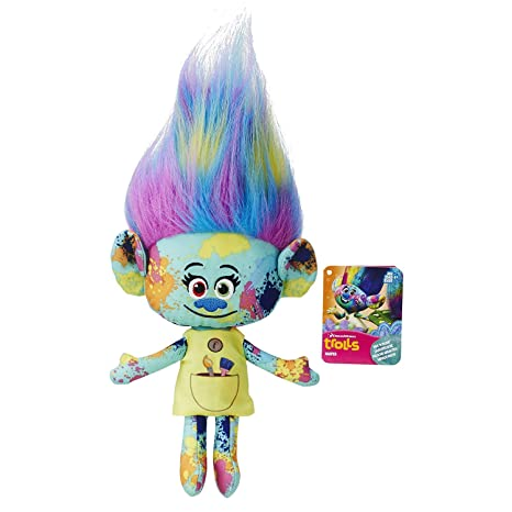 "Grannys Best Deals (C)Trolls HARPER Hug N Plush Rainbow 2016 12"" New"
