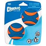 CHUCKIT Ultra Squeaker Ball for Small Dogs, Small