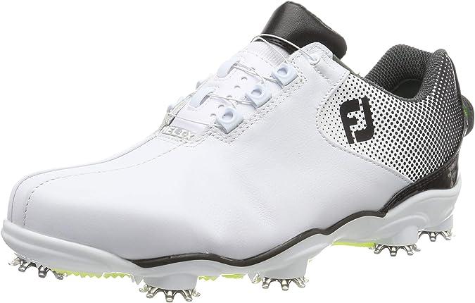 Footjoy D.n.a Helix, Horma Ancha. Zapatillas de Golf para Hombre: Amazon.es: Zapatos y complementos