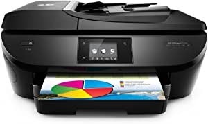 HP OfficeJet 5740 All-in-One Wireless Printer with Mobile Printing, HP Instant Ink or Amazon Dash replenishment ready (B9S76A)