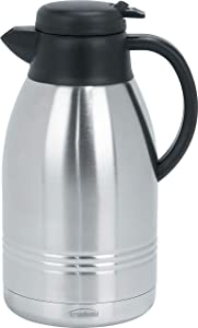Trudeau Lyra 68-Ounce Stainless Steel Carafe
