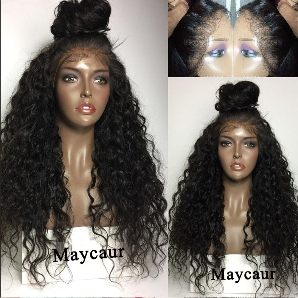 Vanessa Queen 180 Density Long Curly Synthetic Lace Front Wig Kinky Curly Hair Wigs 26Inch