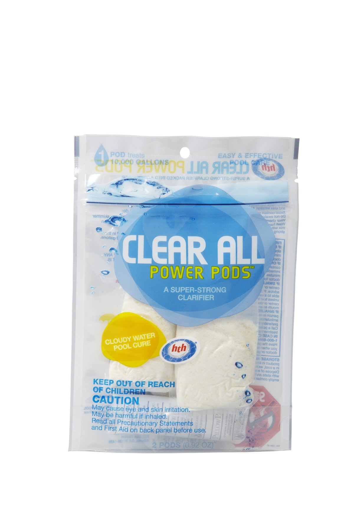 HTH 4112 Clear All Power Pods Clarifier