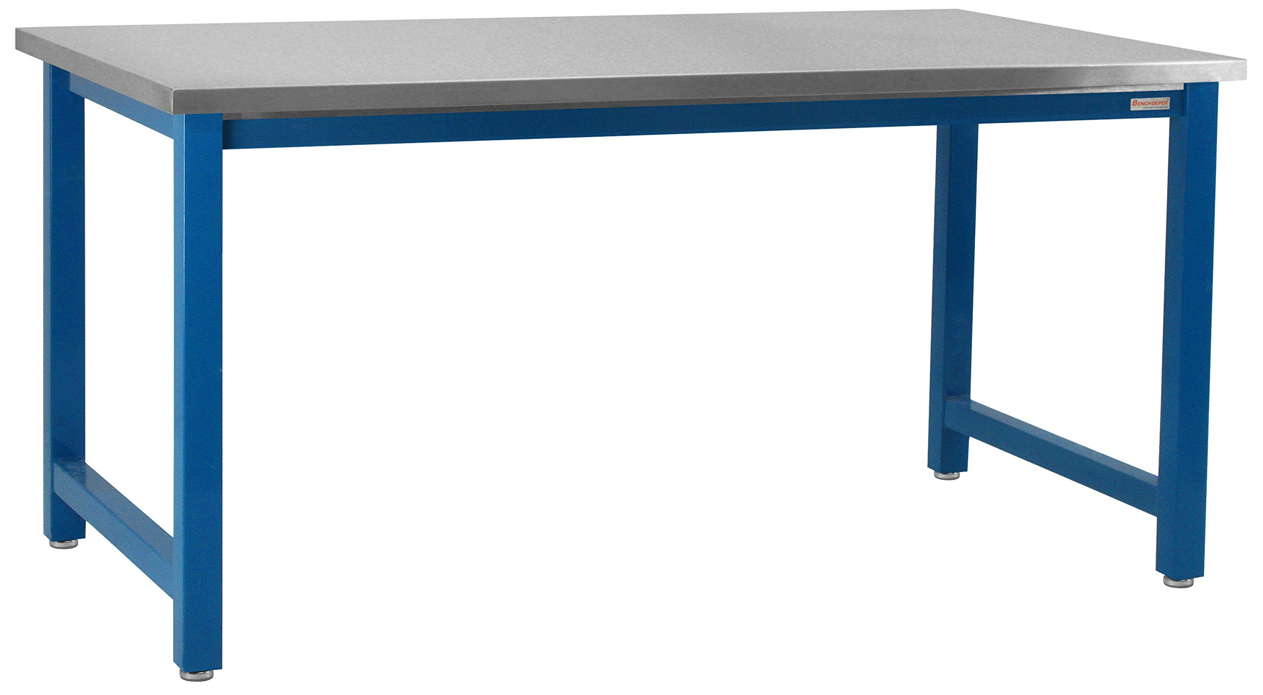 Kennedy Workbench with Grade 304 Stainless Steel Top, 6,600 lbs Capacity, 36'' Depth x 96'' Width, 30'' Height