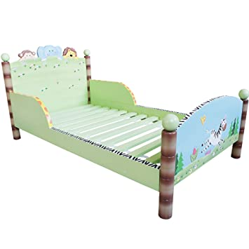 Fantasy Fields By Teamson Sunny Safari Toddler Bed
