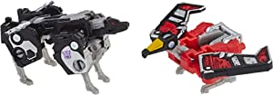 """Transformers Toys Generations War for Cybertron: Siege Micromaster Wfc-S18 Soundwave Spy Patrol 2 Pack Action Figure - Adults & Kids Ages 8 & Up, 1.5"""""""