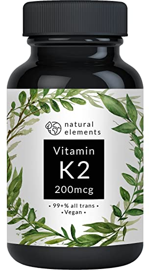 wybór premium zawsze popularny cała kolekcja Vitamin K2 MK7 200µg - 365 Kapseln - Premium: 99,7+% All-Trans (K2VITAL®  Delta von Kappa) – Mikroverkapselt, hochdosiert, vegan, hergestellt in ...