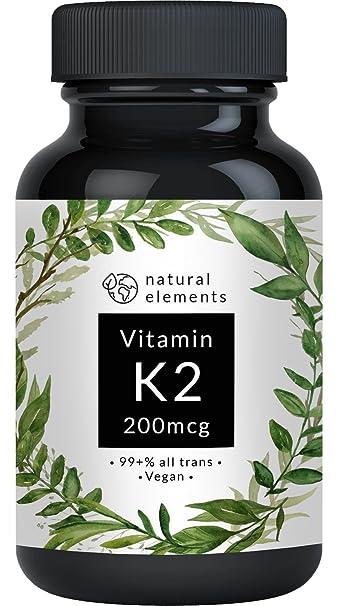 Vitamin K2 MK7-365 Kapseln à 200µg - 99,7+% All-Trans - Premiumqualität: K2VITAL® Delta von Kappa – Mikroverkapselt, hochdosi