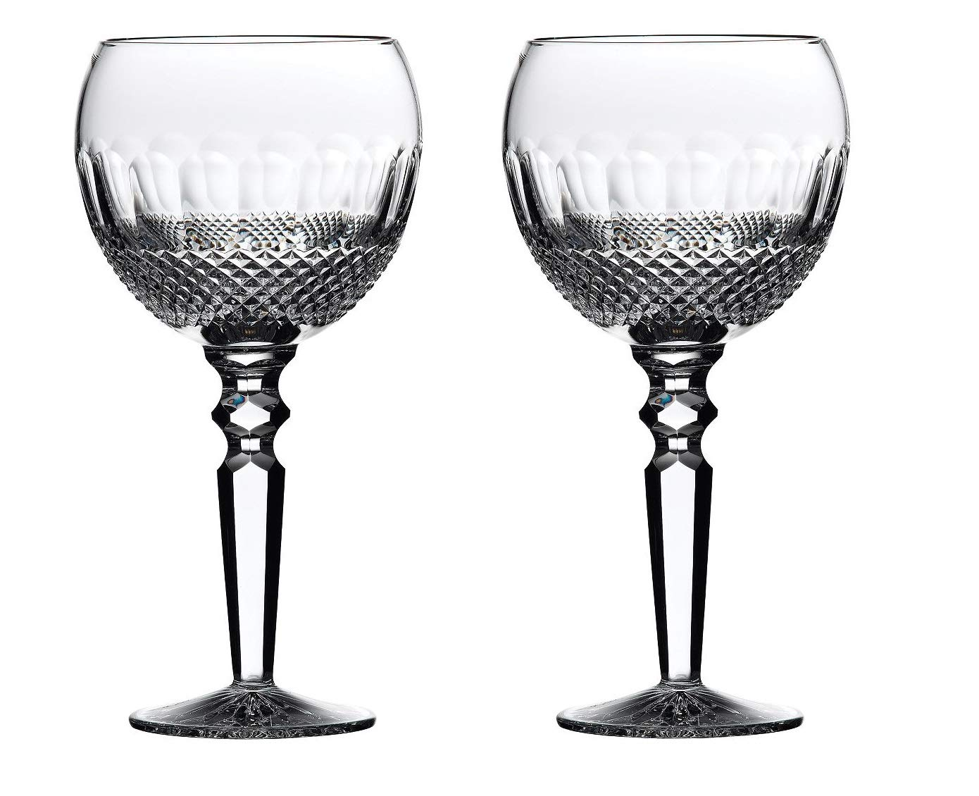 Waterford Crystal #135608 Colleen Encore Goblets Set of 2