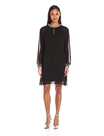 S l fashions black dress on amazon