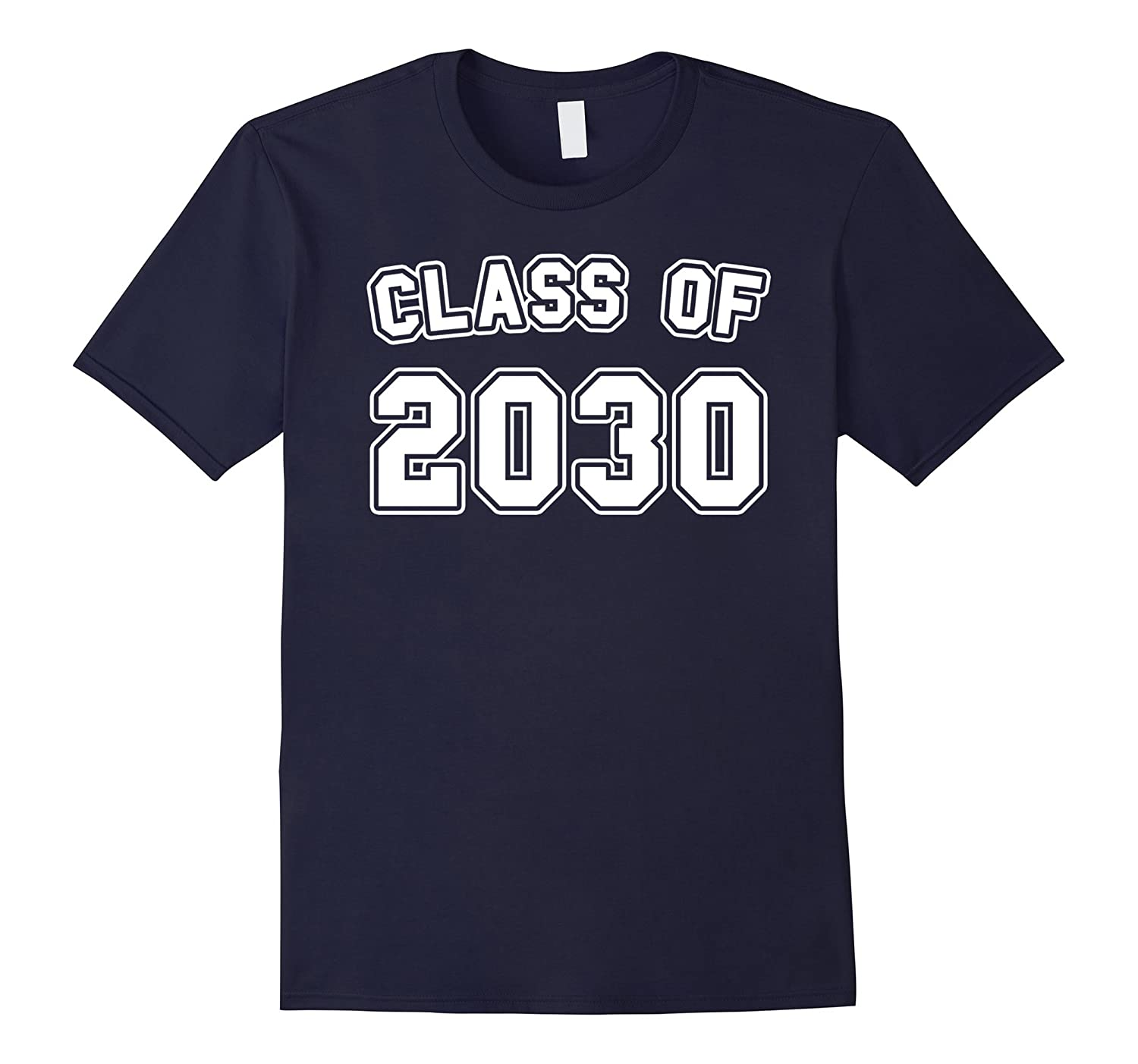 Class 2030 for Kindergarten Grads in 2017 T-Shirt-CL