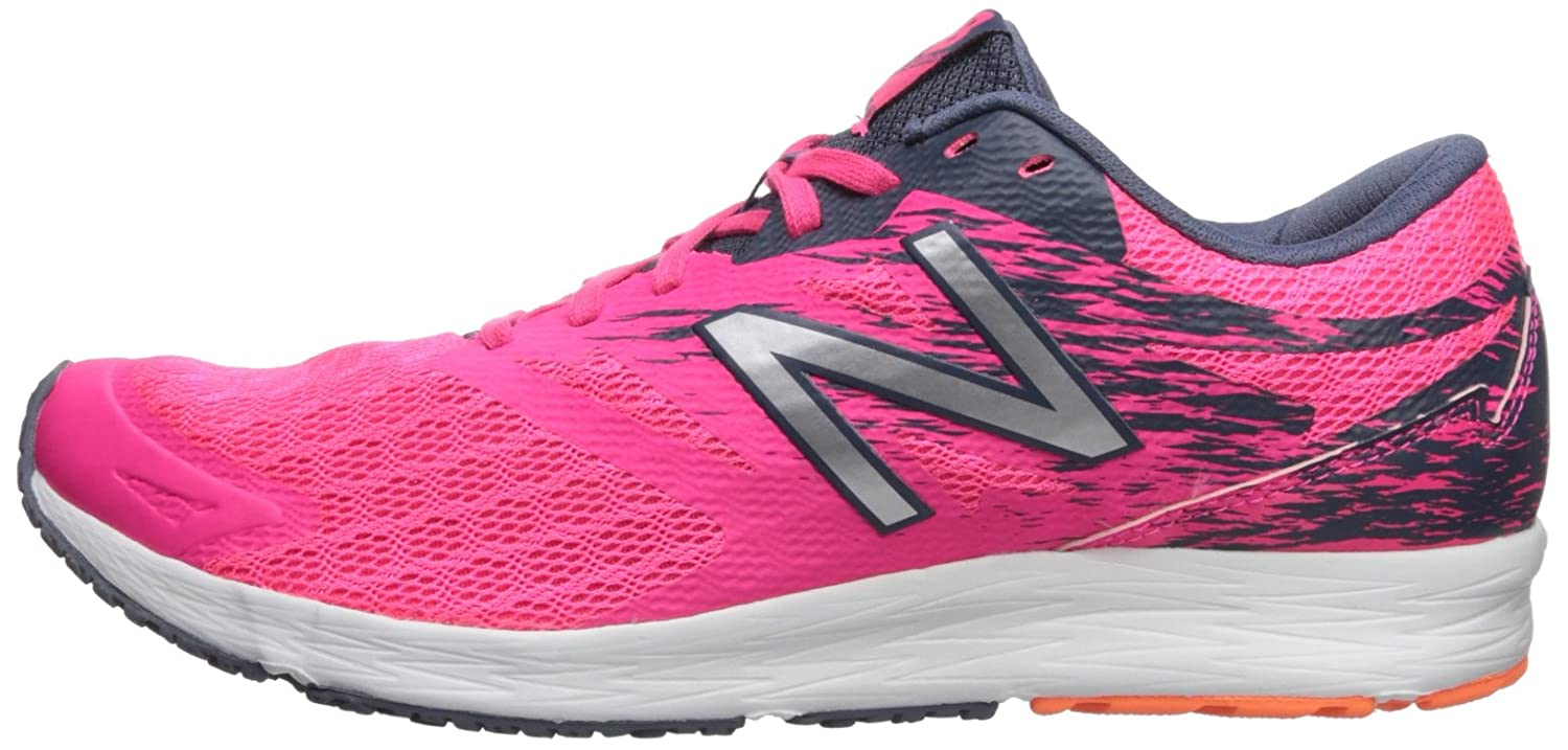 New Balance Women's Flash V1 Running Shoe B071ZZGHBY 10.5 B(M) US|Pink/Grey