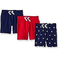 Amazon Essentials Paquete de 3 pantalones cortos para niños