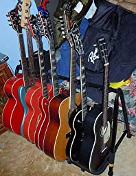 Amazon Com Hercules Gs525b 5 Piece Guitar Rack Musical