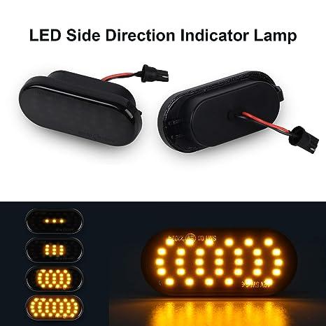 Señal de giro dinámica Luz lateral OZ-LAMPE Indicadores laterales ...