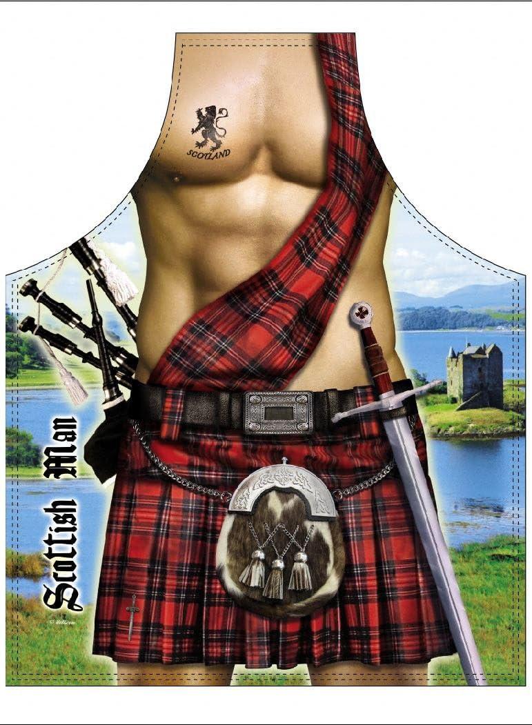 Sexy Scottish Man Apron