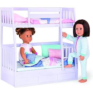 Amazon Com Our Generation Dolls Dream Bunk Bed Set Toys Games