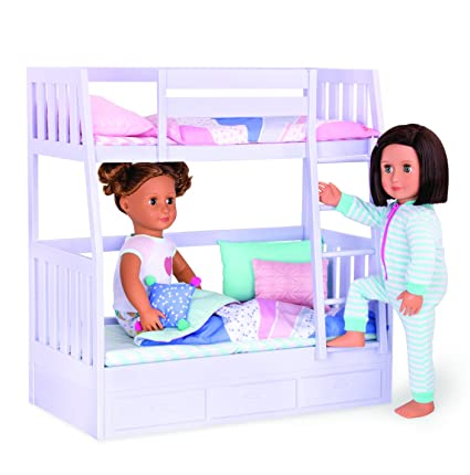 Amazon Com Our Generation 18 Doll Bunk Bed Toys Games