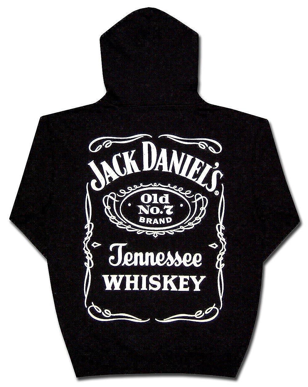 Jack Daniel Men's Daniel's Logo Hooded Sweatshirt 33261433JD-89