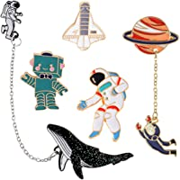 bba1766e3 GuassLee Cute Enamel Lapel Pin Set - Cartoon Brooch Pin Badges for Clothes  Bags Backpacks