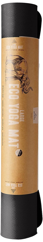 Prana E.C.O. Yoga Mat (Grande), Color marrón, tamaño Talla ...